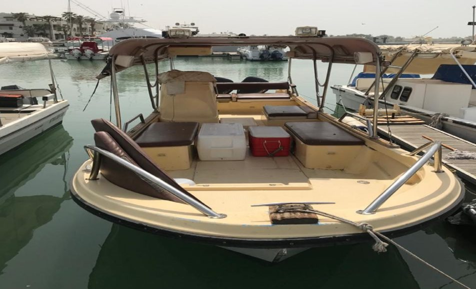 قارب معاذ بحر