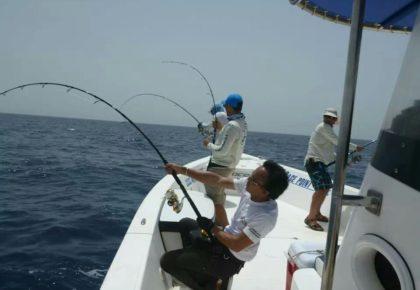 رحلة الصيد البحرية للترفيه