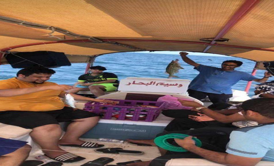 باقة وسيم البحار للصيد وزيارة جزيرة أحبار