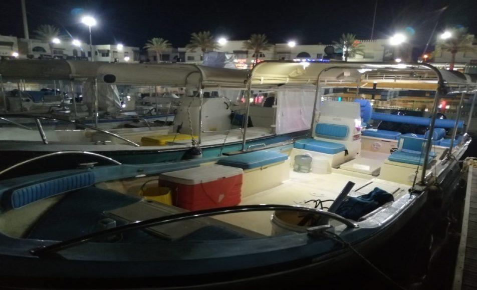 قارب ندى البحر