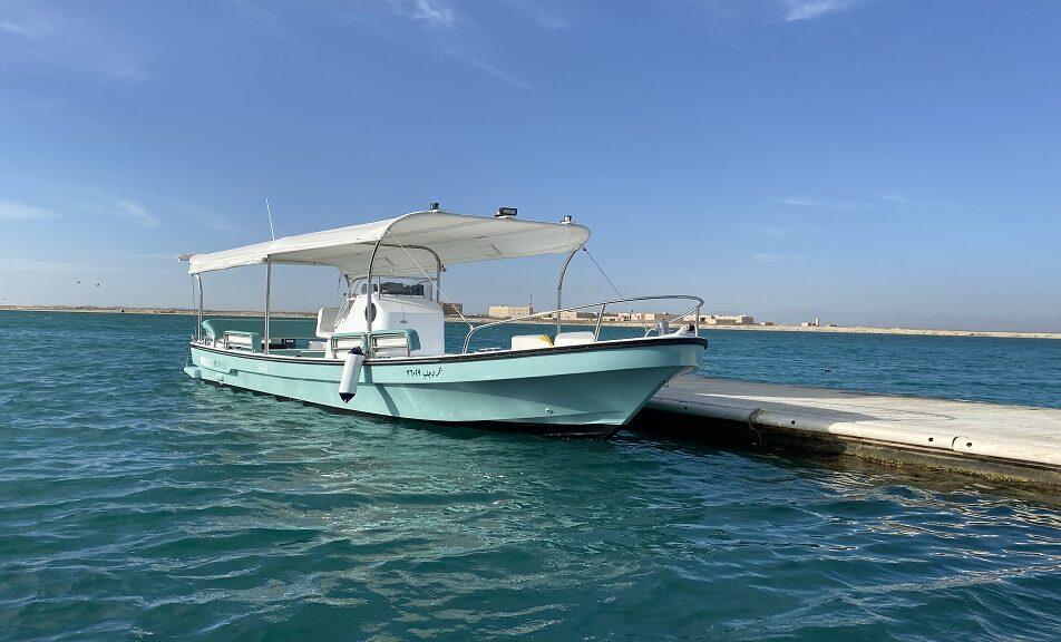 قارب بحر وجلب